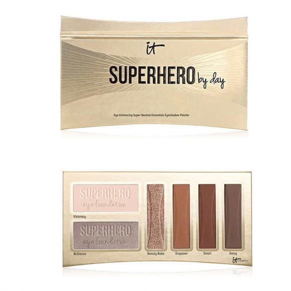 it cosmetics Other - it Cosmetics Superhero By Day Eyeshadow Palette